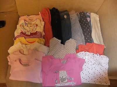 18 item bundle Next & Gap 3 - 6 months trousers and tops