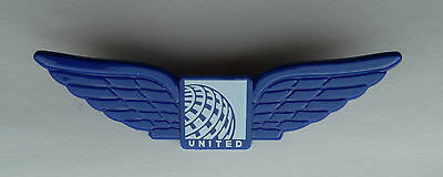 United Airlines Continental Airlines Plastic Junior Airline Wings Pin