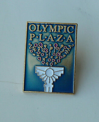 Olympic Plaza Vintage Lapel Hat PIn