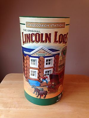 The Original Lincoln Logs Stagecoach Station 00939.