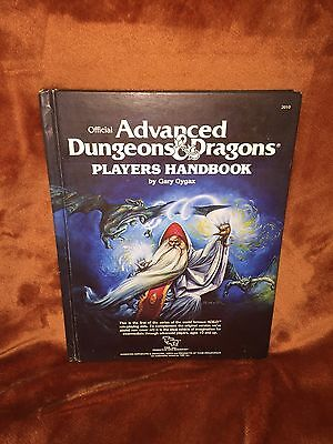 AD&D PLAYERS HANDBOOK 1st Edition 1978 Rare Vintage Dungeons & Dragons TSR RPG