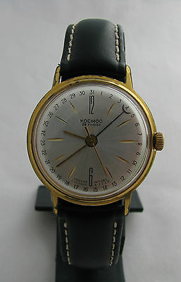 Uhren  Kosmos. Cosmos - AUTOMATIC. 29 Jewels. USSR. Gold Plated AU20