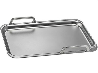 Gaggenau Large Stainless Steel Teppan Yaki For Induction Hobs GN232230