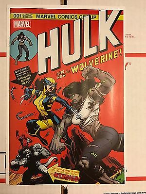 HULK #1 Hall Of Comics 181 Swipe DEADPOOL Variant ONLY 500 MADE X-23 In Hand