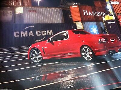 HSV POSTER RED VF MALOO R8 340Kw