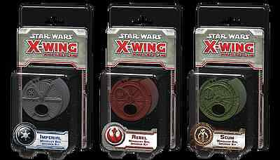 Star Wars X-Wing: Maneuver Dial Upgrade Kit Rebel, Imperial or Scum