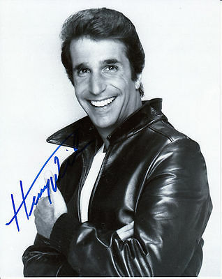 HENRY WINKLER  Original Hand Signed Autographed 8x10 Photo w/ COA