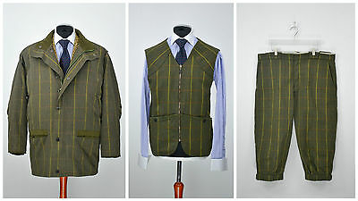 Mens Barbour Shooting Hunting Suit 3 in 1 Endurance Trapper Olive Green SZ XL