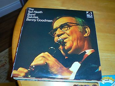 Lp/ Ted Heath Band /salutes Benny Goodman (1976 Uk Decca Phase 4 Stereo