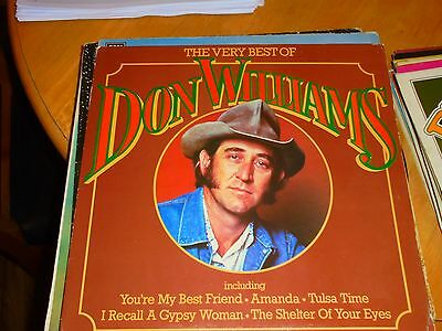 Lp/ Don Williams / The Very Best Of (1980 Uk Mca