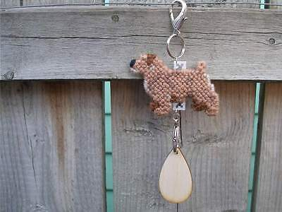 NORFOLK TERRIER Dog crate tag or hang anywhere pet art home decoration ornament