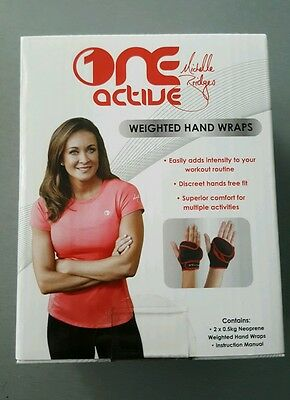 Michelle Bridges One Active weighted hand wraps