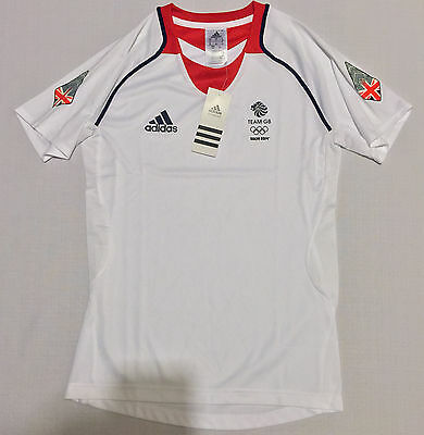 Team GB Function Shirt Sochi 2014 Olympics Training ATHLETE ISSUE BNWT S UK 10
