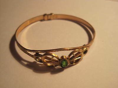 Antique Child's Bracelet Or Or For Small Wrist Expandable, Gold Filled,