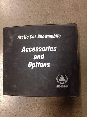 Arctic Cat Snowmobile Accessories And Options Manual Book 1971-1998