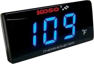 Koso North America BA024B11 Super Slim Temperature Gauge