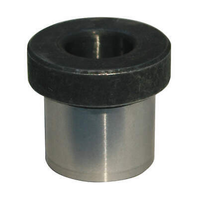 GRAINGER APPROVED 52100 Thru Hardened Drill Bushing,H,Drill Size 3/8 In, H408JQ