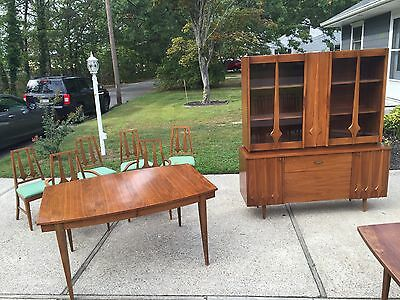 Vintage MCM Young Manufacturing Co DINING ROOM SET Mid Century - Unique & Rare