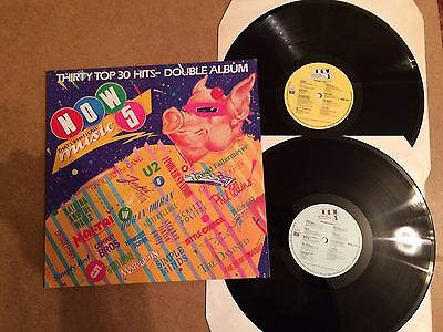 Now That's What I Call Music 5  Vinyl Double Record Lp Emi Now 5 Orig 1985  Mint