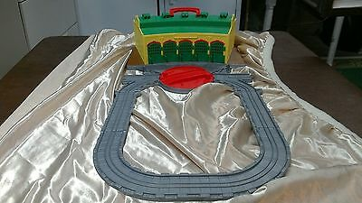 Thomas & Friends Take N Play Tidmouth Sheds Train Station Playset Track