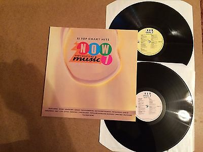 Now That's What I Call Music 7  Vinyl Double Record Lp Emi Now 7 Orig 1986  Mint