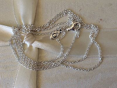 Authentic Pandora Necklace Sterling Silver Chain 60 cm AS NEW