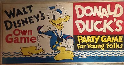 Donald Duck's Party Game for Young Folks, 1938