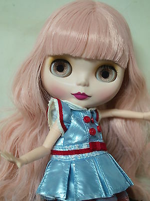 Takara Neo Blythe Nude Doll from Factory 460 Matte Skin Face+Azone L Body