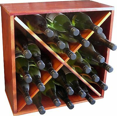 24 Bottle WineX Cube - Stained Wine Rack!