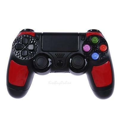 Game wired Controller Dual Vibration 6 Axies Gamepad For Playstation 4 PS4 Red