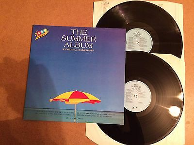Now That's What I Call Music The Summer Album 2-Lp Orig 1986 Emi Summer1  Mint