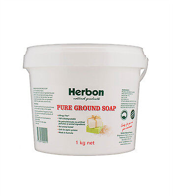 Herbon Natural Products Pure Ground Soap 1kg