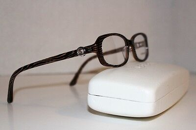 Versace Eyeglasses 3149-B 934 Size 52/17 130 Made In Italy +Case!!
