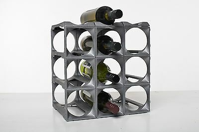 Stakrax 12 Bottle Kit Modular Wine Rack!