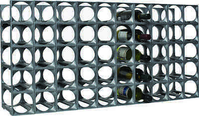 Stakrax 50 Bottle Kit Modular Wine Rack!