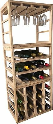 Stakcube 31 Bottle and Glass Rack Bundle!