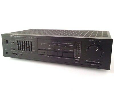 Kenwood KA-87 Stereo Integrated Amplifier 7 Band EQ Graphic Equalizer Receiver