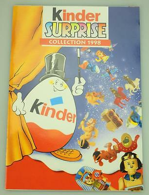 Lot of 2 Kinder Surprise Booklet and Poster for 1998 Collection D88