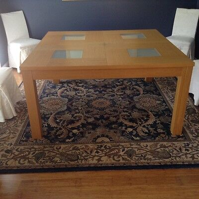Dining table - 8 seater square.