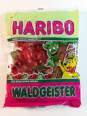 HARIBO WALDGEISTER  - CANDY WINE GUMS 7oz - 200g - MADE IN GERMANY -