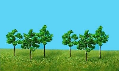 X8 for Z + N Set Trees 100 Piece Deciduous trees 3,5cm NEW
