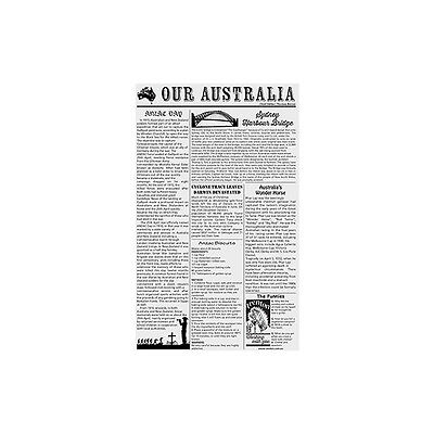 200 Sheets X Greaseproof Paper Newsprint Newspaper Style (2 Sizes)