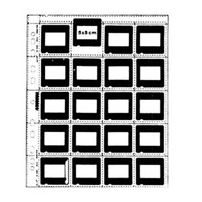 MATIn Matin Archival Slide Clear Sheets Sleeves for 35mm 5X5cm Mounts - 25pcs