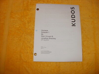 Humans Tv  Pilot Script - William Hurt - Colin Morgan - Gemma Chan - Willtudor