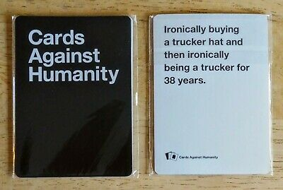 Cards Against Humanity RETAIL PACK PROMO ONLY OP 2 Black 3 White