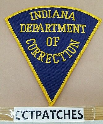 Indiana Department Of Correction (Police) Shoulder Patch In