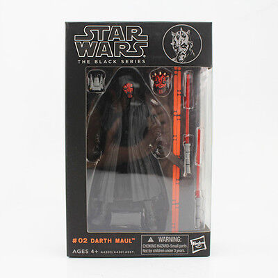 Hasbro Star Wars The Black Series DARTH MAUL Action Figure Toy Gift New