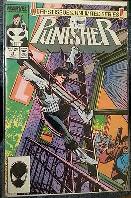 The Punisher #1 Marvel 1987 Netflix Comic Unlimited Series Book NM