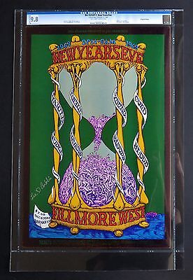 Fillmore Poster BG 153-OP-1: New Years Eve CGC Grade 9.8 Signed by Lee Conklin