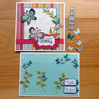 IMPRESSION OBSESSION SMALL BUTTERFLY BUTTERFLIES Cutting Die 5 shapes BNIP